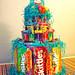 Candy Birthday Cake by ltl blonde