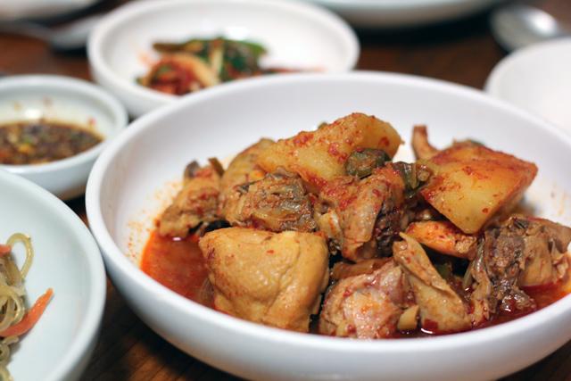 Home Cooked Korean Food