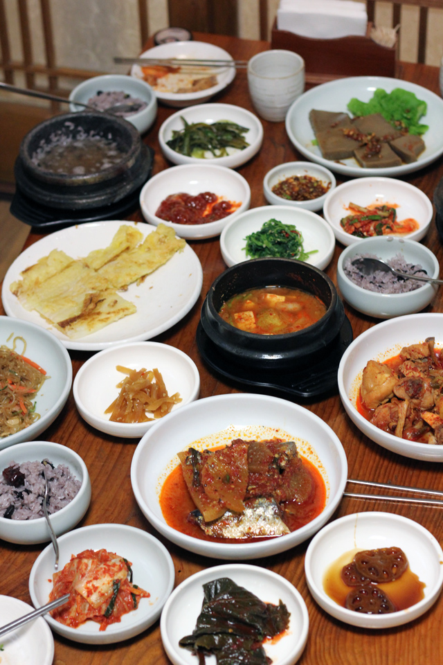 Korean feast of epic proportions