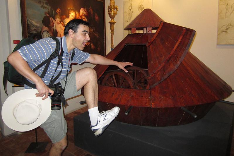 Leonardo's tank