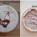 Embroidery Cockerel 5""