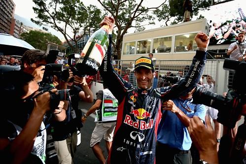 F1 GP de Mônaco 2012 - Mark Webber Vence