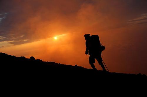italy volcano italie hicking strombloli