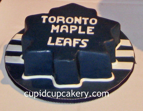 Toronto Maple Leafs Groom's Cake