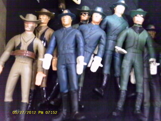 Vintage Bendable Soldiers and Robber dudes