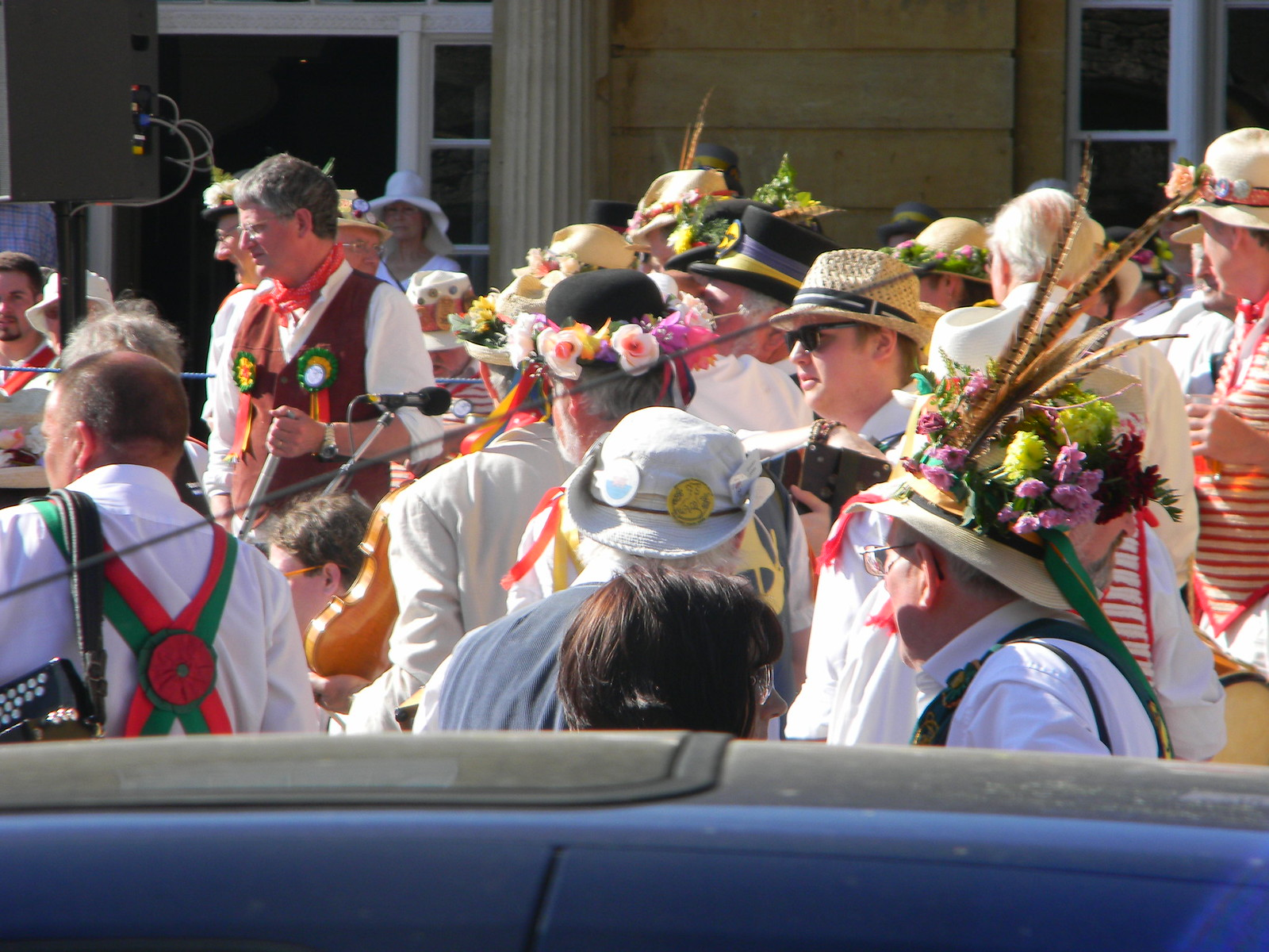 Morris hats Chipping Camden Moreton-in-Marsh Circular