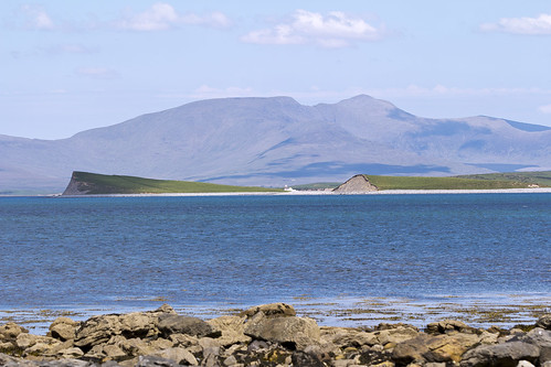 Clew Bay basking in the sunshine (On Explore)