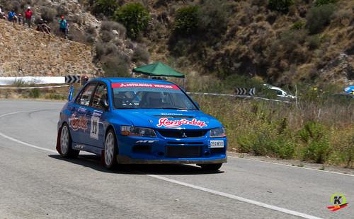 Francisco J.Hernández , I Rallyesprint Costa Calida.