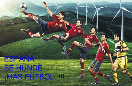 12e29 Publicidad 2 España se hunde Más fútbol Uti