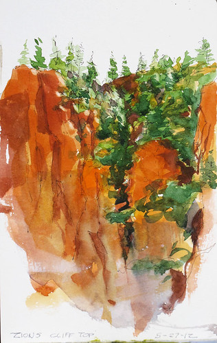 Hanging-valley-Zions by Spencer Mackay