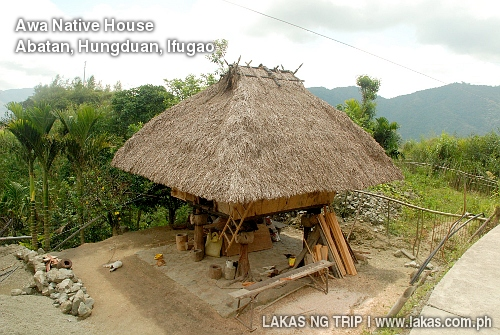 Sitio Awa Native House in Barangay Abatan, Hungduan, Ifugao