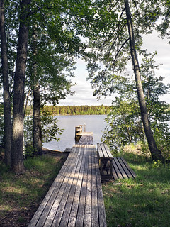 Old Sauna Deck to Lake