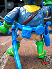 """MUTANT MILITARY 2"" TEENAGE MUTANT NINJA TURTLES ::  KOOKIE KAVALRY LEO xx (( 1992 ))"