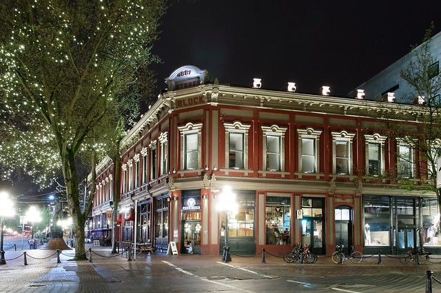 Byrnes Block Building, Gastown