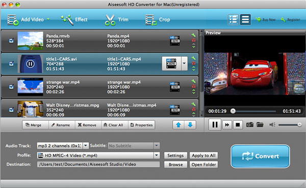 Easy ways to convert any videos on Mac with Aiseesoft HD Video Converter for Mac 7318180138_384dc52850_z