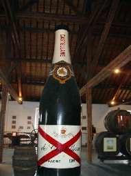 Champagne de Castellane.