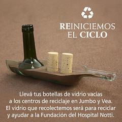 Mendoza: Campaña de Reciclaje de Botellas de Vidrio