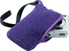 Printed neoprene camera case