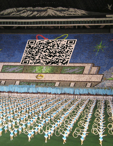 QR-code innovation in N-Korea | by sndrv