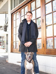Stranger #1/100 - Jaimie & Roscoe, originally uploaded by Kayhadrin