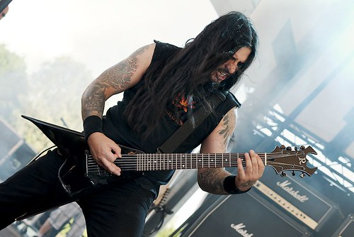 Krisiun @ Rock Hard Festival 2012 by Joachim Ziebs