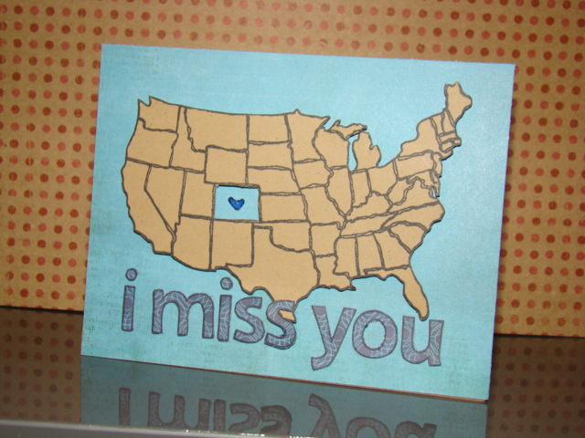 i miss you (usa) card 1 - ls