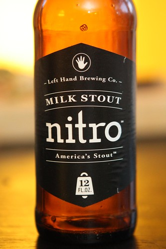 Left Hand Brewing Co. Milk Stout Nitro (Artwork)
