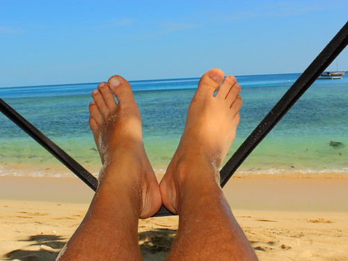 Happy Feet, Naviti Island, Fiji