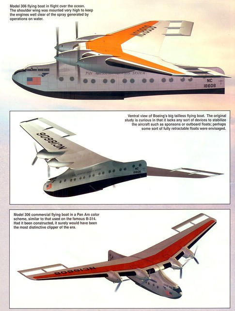 Boeing Model 306 Flying Boats