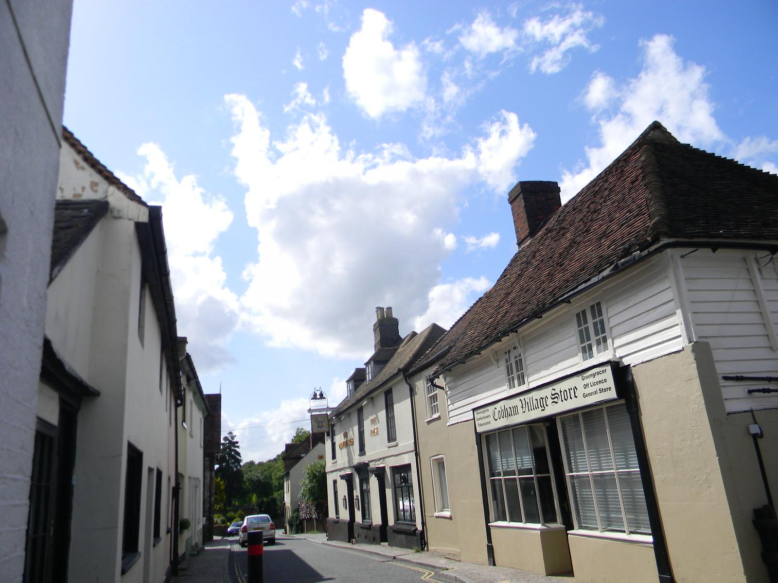 "Cobham ""Street"" Cuxton to Sole Street"