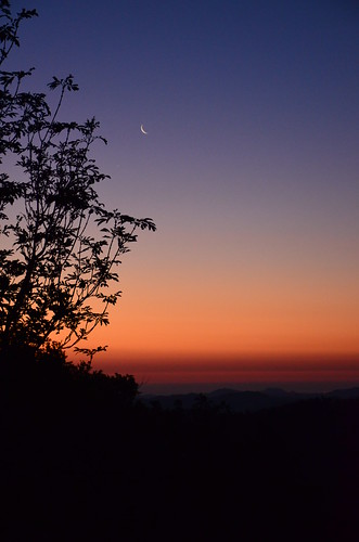 sunset alba luna aurora venere appennino romagna spinello
