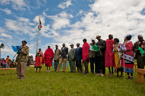 Maasai elder,Espinosa