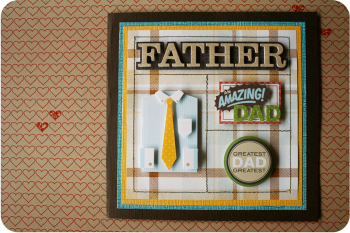 {card design} two | father