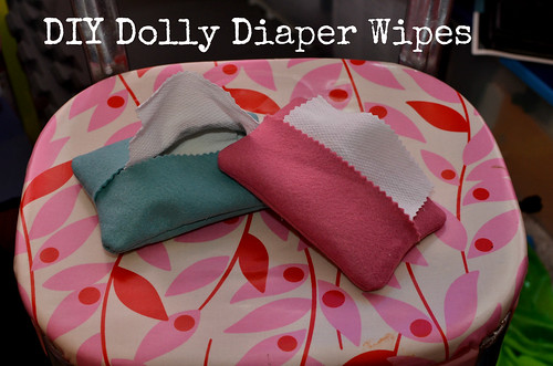 DIY Dolly Diaper Wipes