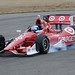 Scott Dixon locks up his brakes during the 2014 Open Test at Barber Motorsports Park