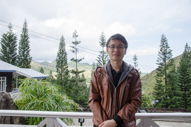Weather is cold here at Kinabalu Pine Resort, so must wear jacket