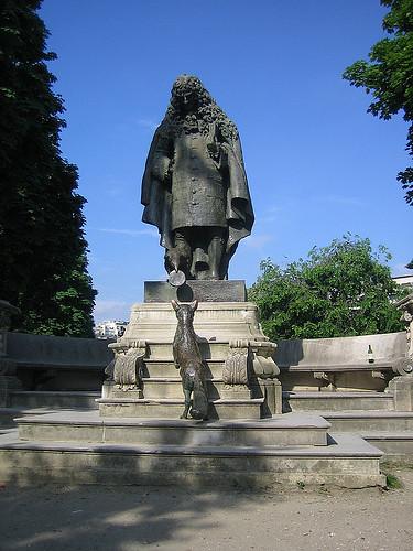 IMG_8863 _ Hommage à Jean de La Fontaine (1983) by Charles Corréia (1945-1988), Jardins du Ranelag, Paris