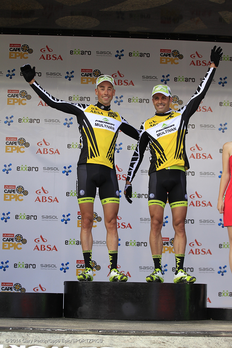 Absa Cape Epic 2014 Prologue - Meerendal Wine Estate