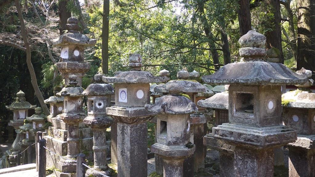 Stone Lanterns at Kasuga Taisha