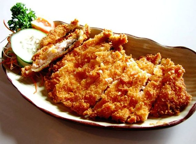 Zen - fried salmon