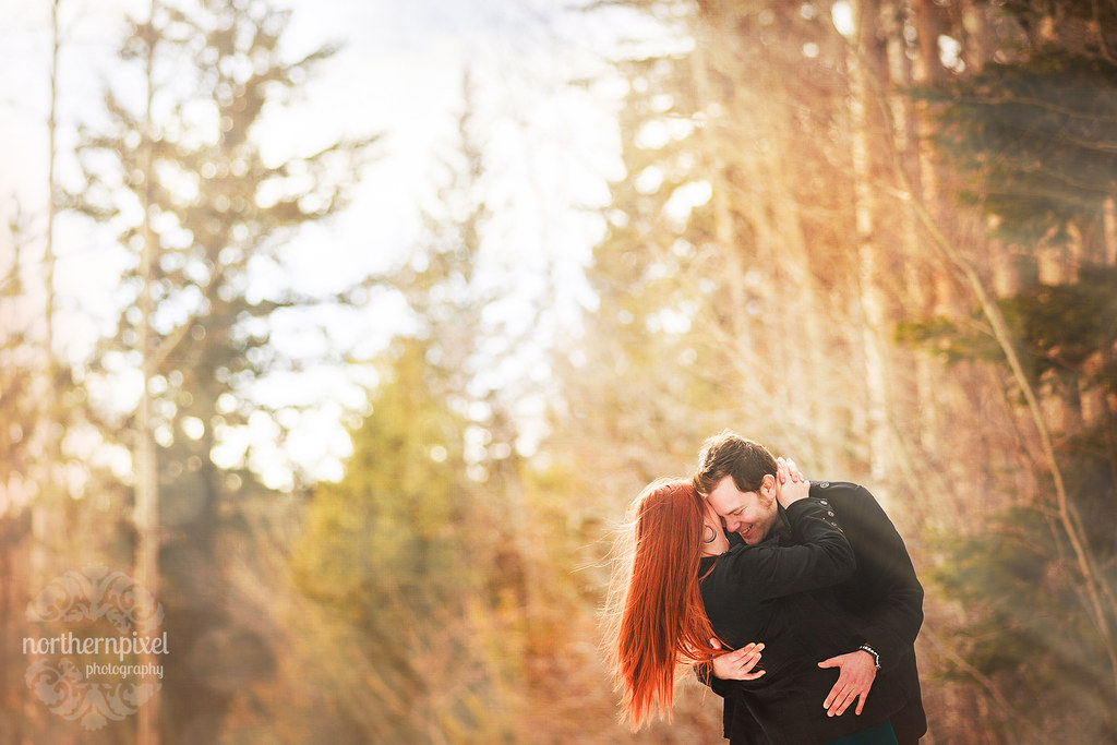 Michelle & Chris - Prince George BC Engagement Session