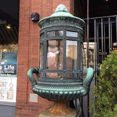 Awesome lantern, downtown Wilmington azalea festival