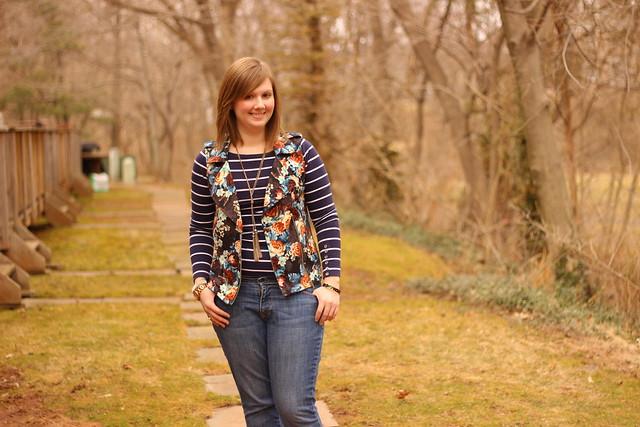 target floral vest 5