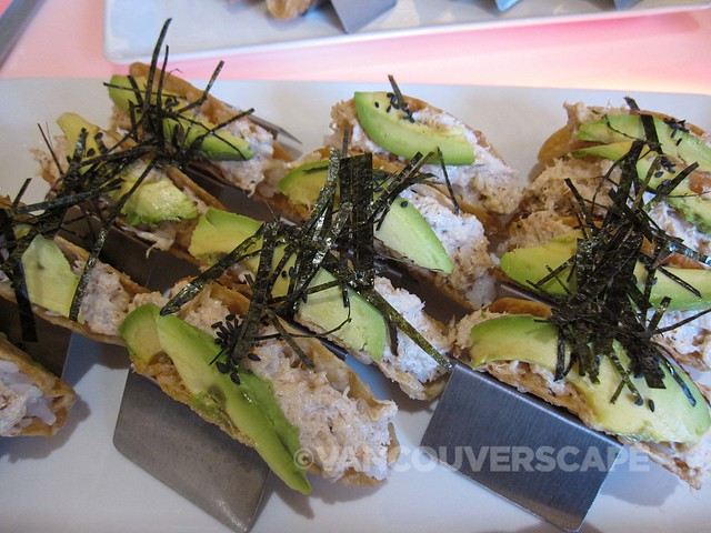 Personas Tapas California sushi tacos