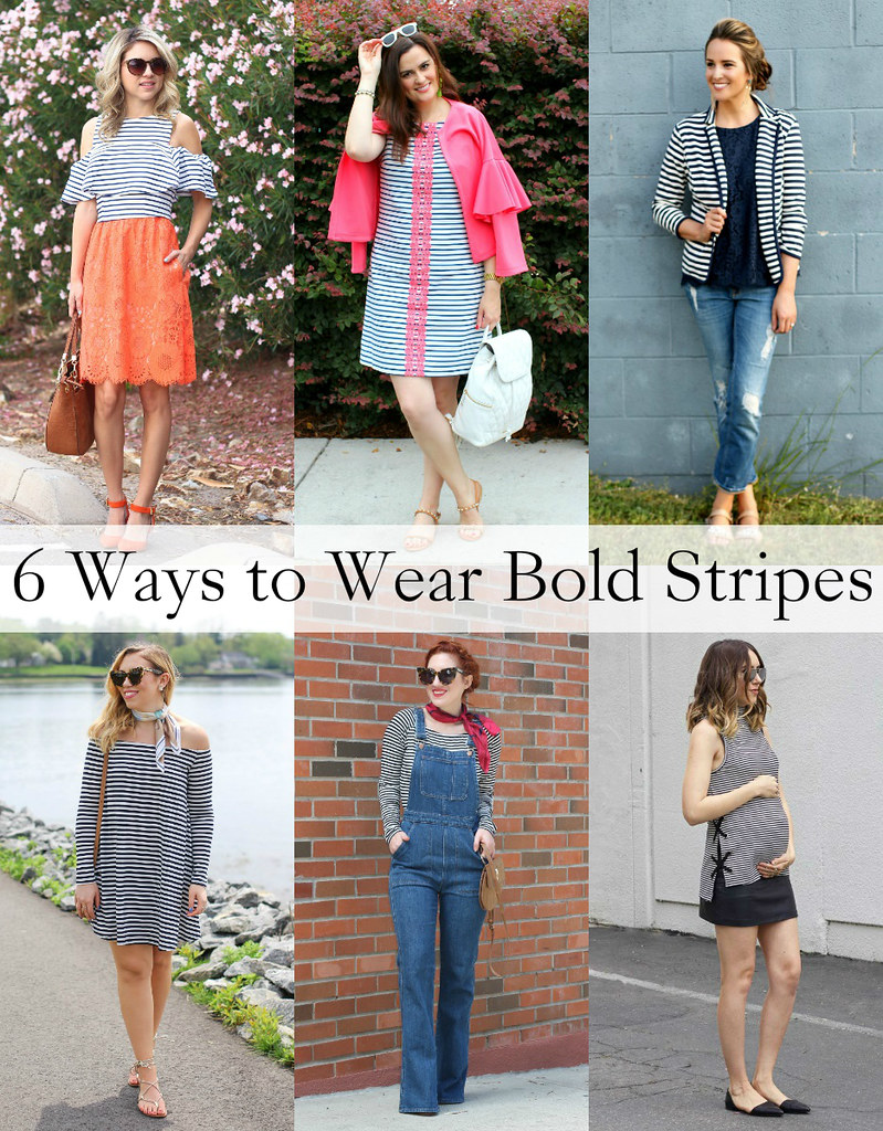 6 Ways to Wear Bold Stripes | Memorial Day Weekend Outfit Inspiration