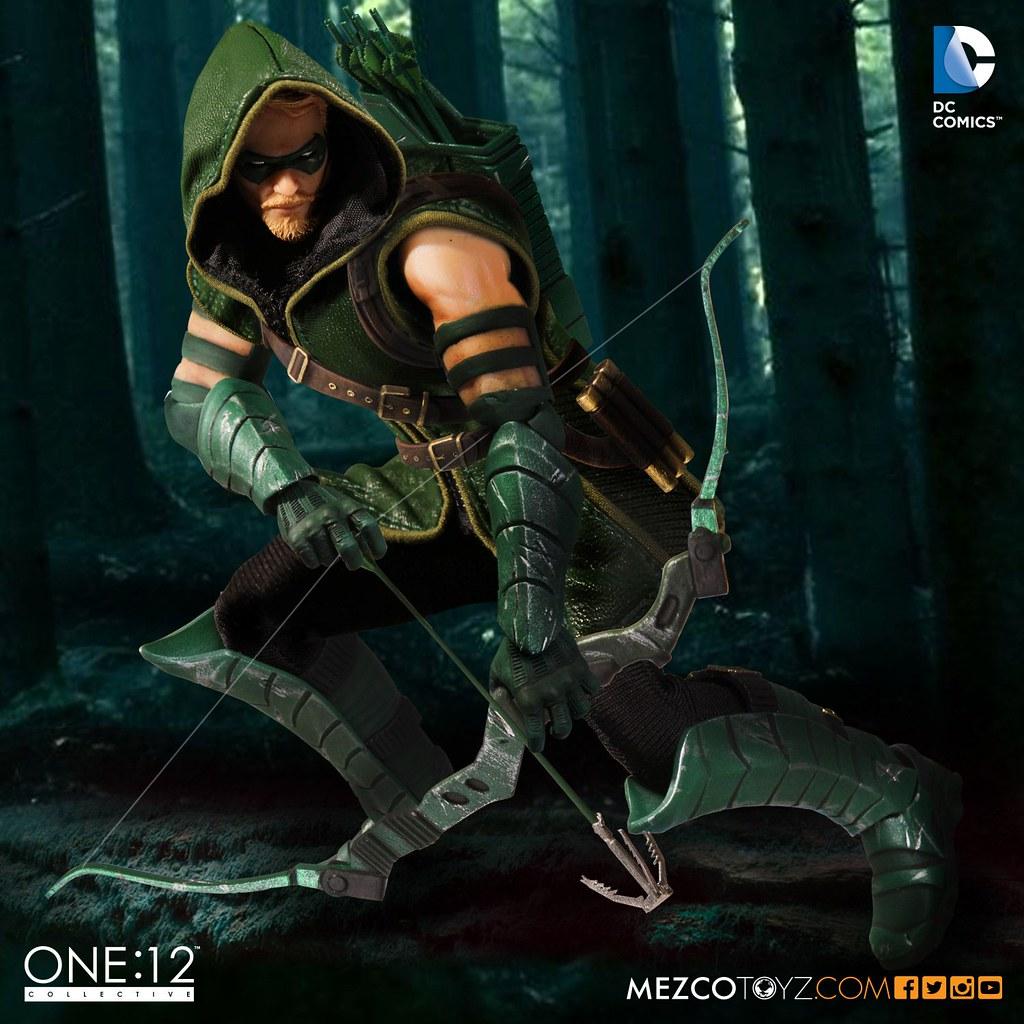 MEZCO – ONE:12 COLLECTIVE 系列【綠箭俠】Green Arrow