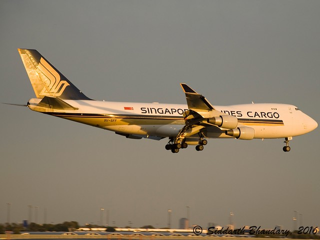 Singapore Airlines Cargo | Boeing 747-412F(SCD) | 9V-SFF | C/N 28026 | KDFW | DFW
