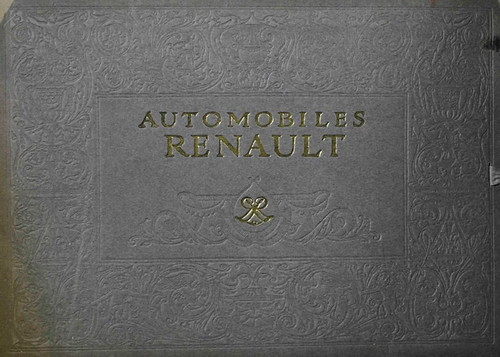 1910. Catalogue Renault
