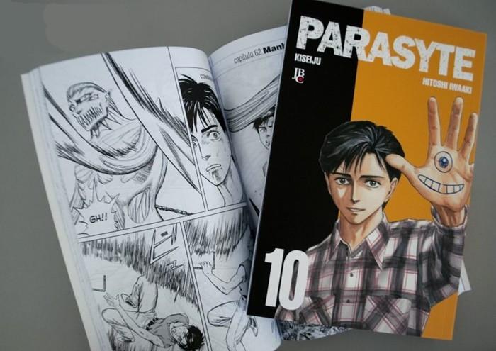 Décimo e último volume do mangá Parasyte é lançado