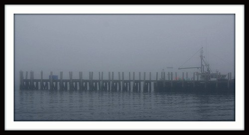 Cold foggy day in Newport by leith70 via I {heart} Rhody